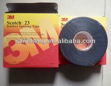 Scotch Insulation Black Adhesive Tape 3M 23# Rubber Splicing Electrical Tape