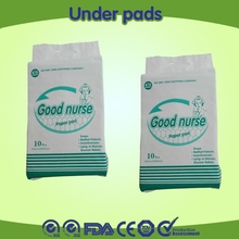 low price high quality good nurse disposable under pads