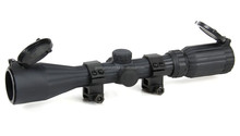 3-9x40 Full Size STEALTH Rubber Armored Range Estimating Mil-Dot Red/Green Illuminated riflescope