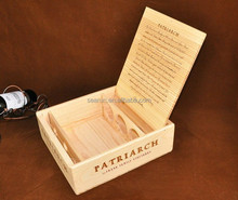plywood wine box , wooden boxes for 4 bottle wine box
