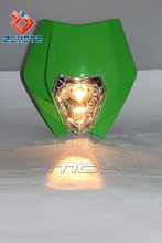 YM-023-GN Green Dirt bike Off road bike headlight assembly lamp headlight fit rmz rm kx sx ktm gas gas klx wr cb