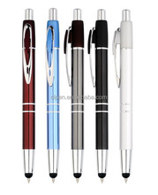 2014 best ballpoint blank black color promotional pen