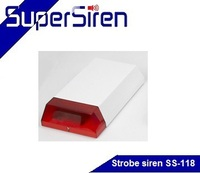 Red flash light alarm, 24Voltage smart sounder for home, office, warehouse and school use