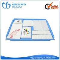 Wholesale custom printed OEM airline decoupage paper napkins for home