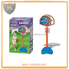 Kids promotion basketball stands with inflatable ball