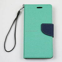 For huawei P8 innovative mix color wallet folio mobile phone bumper case