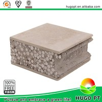 Cement Eps Sandwich Panel Pagar Panel Beton