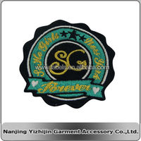cheap and high quality eco friendly machine embroidered beauty patch