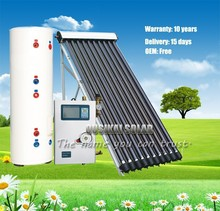 OUSIKAI 100-1000L Split Pressurized Solar Water Heater With Solar Collector+Storage tank+Working Station