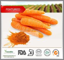 100% Natural Carrot Extract, Beta carotene 1%-30%
