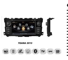Touch screen car radio dvd GPS for Nissan Teana 2013 accessories parts with gps navigation system & car multimedia player