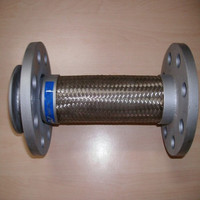 high temperature hose pipe flange joint ss316 flexible braided hose