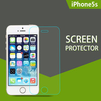 Whole Transparency Ultrathin Anti-Static Washable Anti-water Plating tempered glass color screen protector for iPhone 5 5c 5s