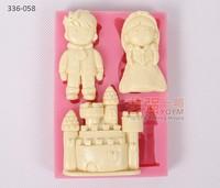 silicone cake mold castle,silicone boy cake mold,silicone girl cake mold