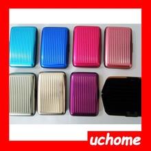 Uchome 2015 recién llegado de Aluma cartera cartera de tarjeta de carpeta de aluminio