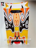 stand up paper bag Custom Design Printed Shopping Kraft Paper Bag