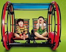 2 Wheel amusement park le bar car/happy car