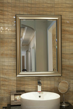 6mm Makeup sets,Decorative Bathroom Mirror, with polished C-edge/Flat Edge or Bevelled Edge