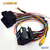 Electronic custom design electrical wiring harness