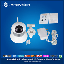 Motion Detection PIR sensor 1MP 720P 2 WAY Audio Support Night Vision PT Mini Robot Ball Wifi iP Camera.
