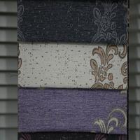 Luxury islamic curtains design dining room yarn dyed fabric sofa curtain