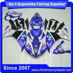 FFKYA006 Motorcycle Fairings For R1 2009-2011 Movistar