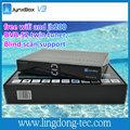 openbox x5 jynxbox ultra hd v3 wifi gratuito y jb200 receptor de satélite para américa del norte