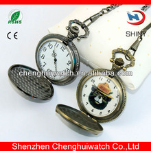 Best-selling an popular lady necklace pendant pocket watch