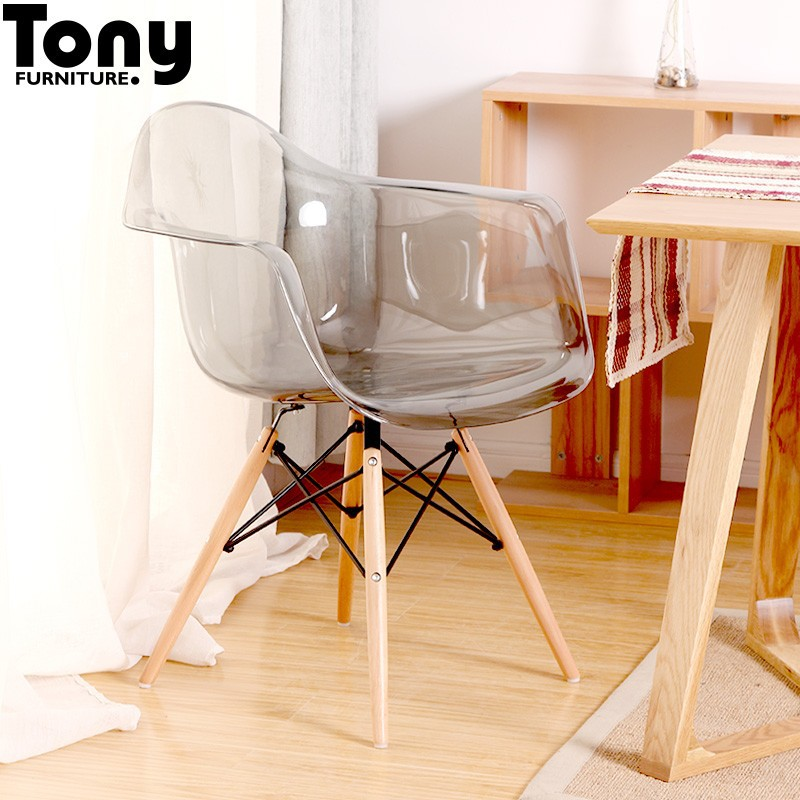 Classic living room furniture plastic dining chair buy for Plastic furniture for living room