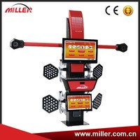 MIller 2015 Hot Selling 3D wheel alignment tire aligner alignment ML-3D-2S/D Enhanced Model with two high precision cameras