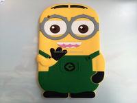 New Wholesale Price Minion Despicable Me Case Silicone Soft Cover For iPad 2 3 4