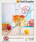 Clássico vidro distribuidor da bebida/dispensador do suco com torneira de água