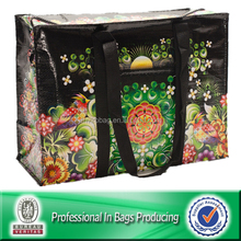 Lead Free Zipper PP Woven Travel Storage Bag