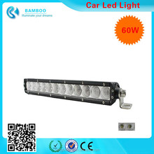 Wholesale 60W Led Work Light Bar Offroad Spot Trucks Atv Ute Suv Bar Lighting 4WD