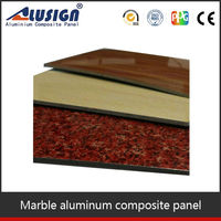 Alusign high grade furnishing facade companies in chennai aluminum cladding panels acm