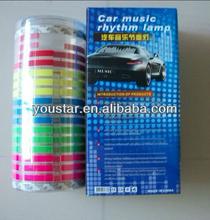 High quality equalizer led car sticker, flash led car panel, led panel for all car