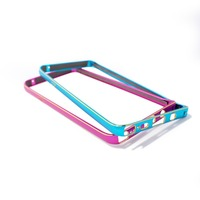 New Arrival For Samsung Galaxy Note 5 Dual Color Aluminum Metal Frame Bumper Cover Case