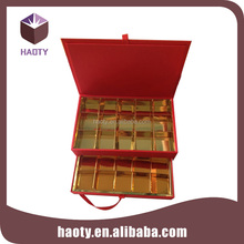 wholesale custom cardboard display box with compartments