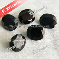 Oval Cut High Quality No Crackles on Surface Natural Black Sapphire Sapphire Rough Material Process