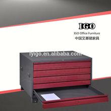 ISO Certified IGO-005T Lightweight Large Capacity mobile shelving storage