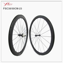 Mixed carbon wheelset 38mm front 50mm rear clincher carbon wheelset 23mm width carbon fiber road bike wheelset 3K/UD matte
