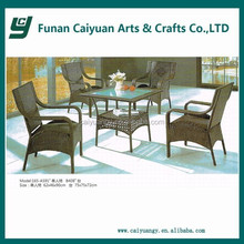 classic style leisures style plastic rattan patio set outdoor furniture