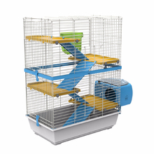 2015 New Design Hot Sale Rabbit Cage Fancy Rabbit Cage Rabbit Cage with Four Floors One Grass Box and One Outside Home