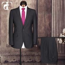Ready made terno slim fit um botão homem do terno dos homens