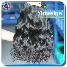 delicate colors 100%hand tied virgin indian remy hair weft
