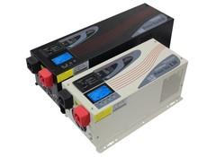 1000-6000W Inverter Power Star W7 DC 24V/48V AC 220/230V Solar Power Inverter Use with Solar Panel