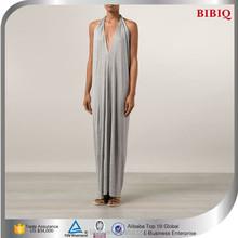 2015 new design apparel Halter Open Back sexy dress woman dress