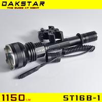DAKSTAR ST16B-1 XML U2 1150LM hunting flashlight flash led light flash led hunting lights