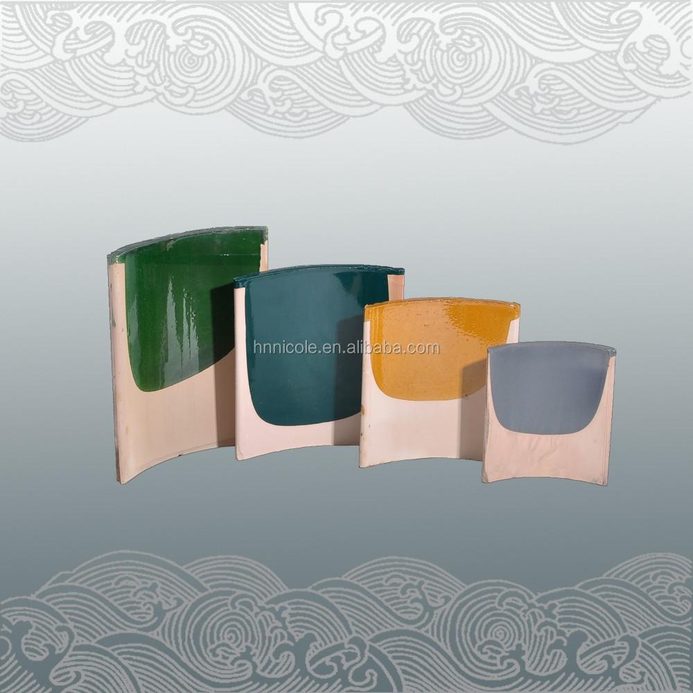 粘土の具体的なメーカーの芸術の屋根瓦の価格