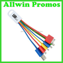 Promotional 5 in 1 Charging Cable/Multi Charging Cable/Universal Charging Cable